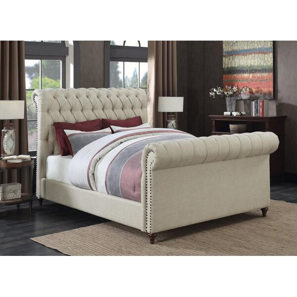 Patel Upholstered Standard Bed by Canora Grey