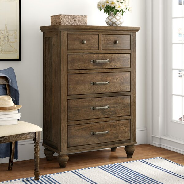 Judith Gap 6 Drawer Chest by Three Posts