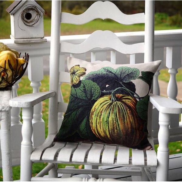 Pumpkin Pillow Cover by Golden Hill Studio