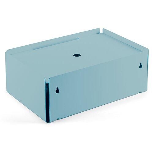 Kabelbox aus Stahlblech ClearAmbient Farbe: Pastelltürkis | Baumarkt > Elektroinstallation > Weitere-Kabel | ClearAmbient