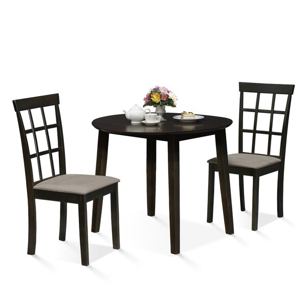 Brzuchalski Drop Leaf 3 Piece Dining Set by Red Barrel Studio