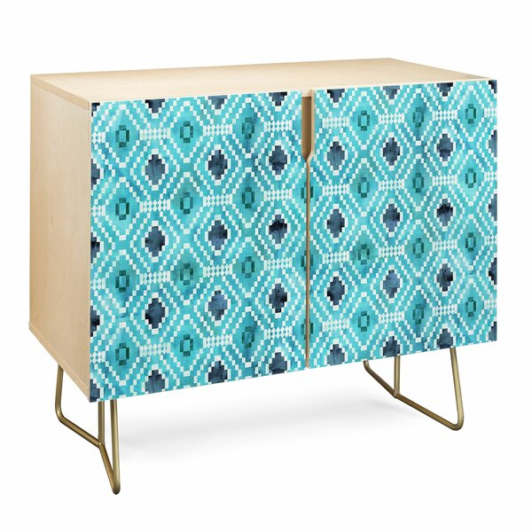 Schatzi Diamond Accent Cabinet by East Urban Home