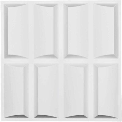 "Robin Endurawall Decorative 19 5/8"" x 19 5/8"" Paintable Wallpaper Panel Ekena Millwork"