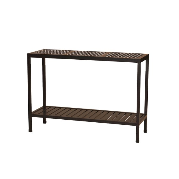 Oxford Aluminum Console Table by Summer Classics