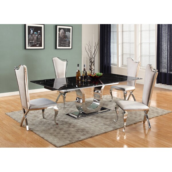 Geir 5 Piece Extendable Dining Set by Willa Arlo Interiors