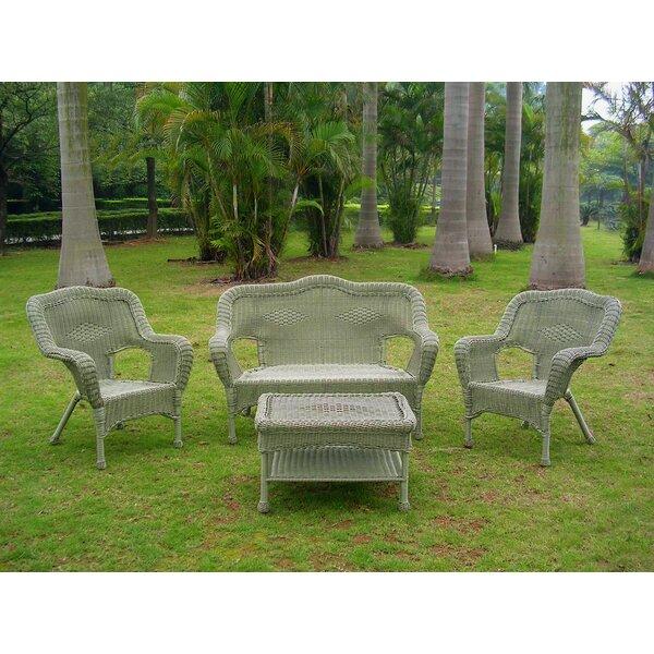 Narron 4 Piece Sofa Set by Lark Manor