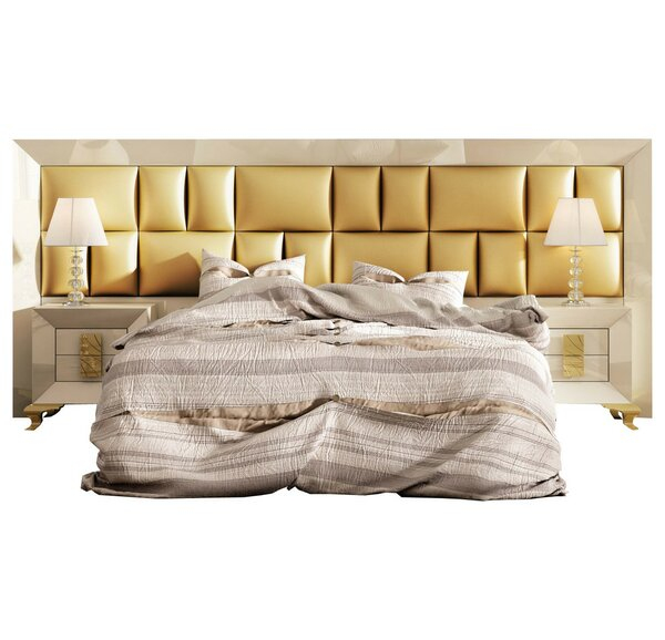 Komar Special Headboard Standard 4 Piece Bedroom Set by Everly Quinn