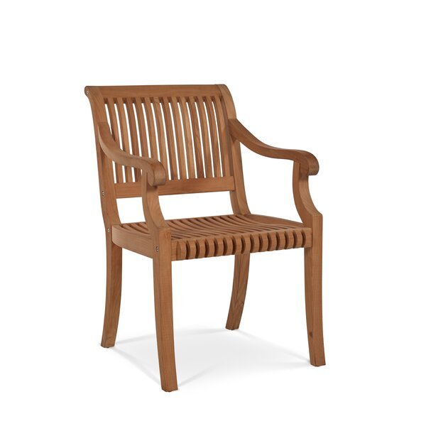 Palm Teak Patio Dining Chair by HiTeak Furniture