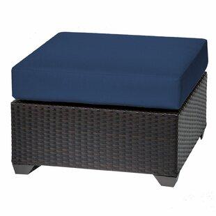 Barbados Ottoman with Cushion byTK Classics