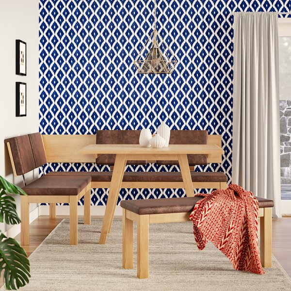 Desouza 3 Piece Breakfast Nook Dining Set by Brayden Studio