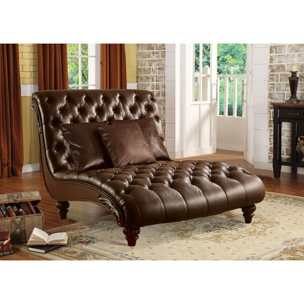 Munson Upholstered Chaise Lounge by Astoria Grand