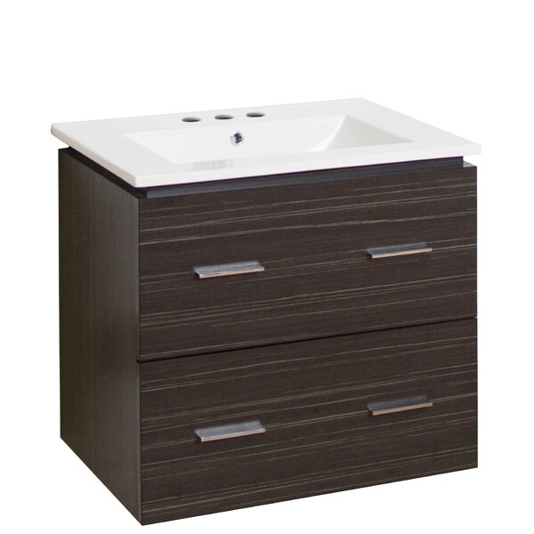 Kyra 24 Rectangle Single Bathroom Vanity by Orren Ellis