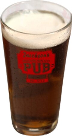 Personalized Gift Personalized Pub Pint Beer Glass (Set of 4) by JDS Personalized Gifts