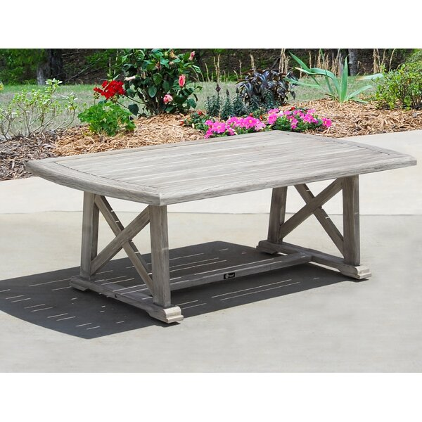 Jessica Casual Outdoor Coffee Table by Gracie Oaks