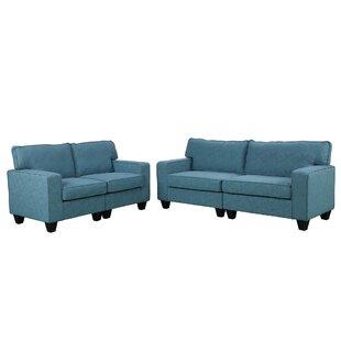 Irvinson 2 Piece Living Room Set by Latitude Run®