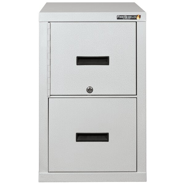 Turtle Lightweight Vertical Fireproof File Safe with Key Lock by FireKing