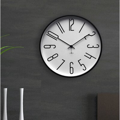 Jonsson Timewarebauhaus Silent 11 5 Wall Clock Jonsson Timeware Finish Chrome White Dailymail
