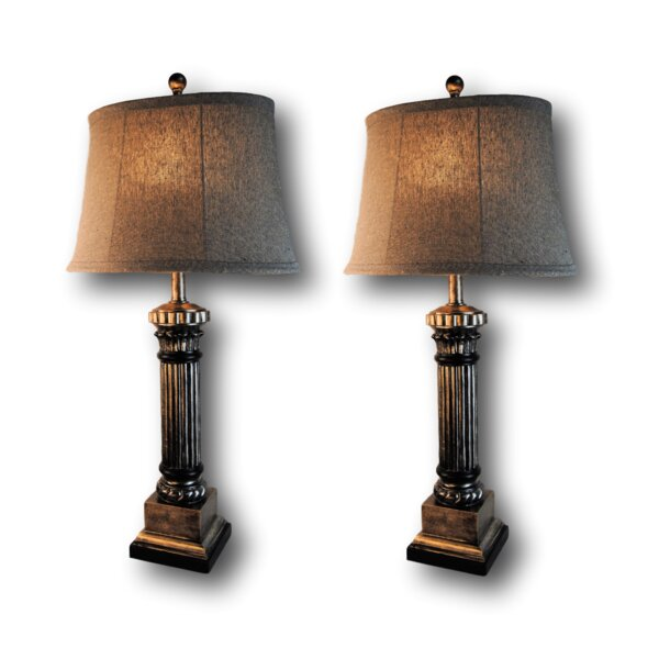 Pressler 31 Table Lamp Set (Set of 2) by Astoria Grand