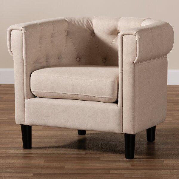 Berntsen Chesterfield Chair by Red Barrel Studio Red Barrel Studio®