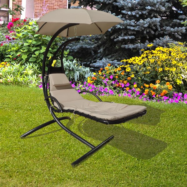 Retreat Hanging Lounge Chair with Cushion by Island Umbrella