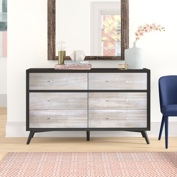 Josephson 6 Drawers Double Dresser by Brayden Studio