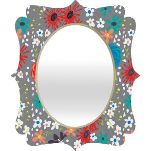 Deny Designs Vy La Bloomimg Love Quatrefoil Accent Mirror