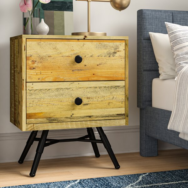 Coda 2 Drawer Nightstand by Foundstone