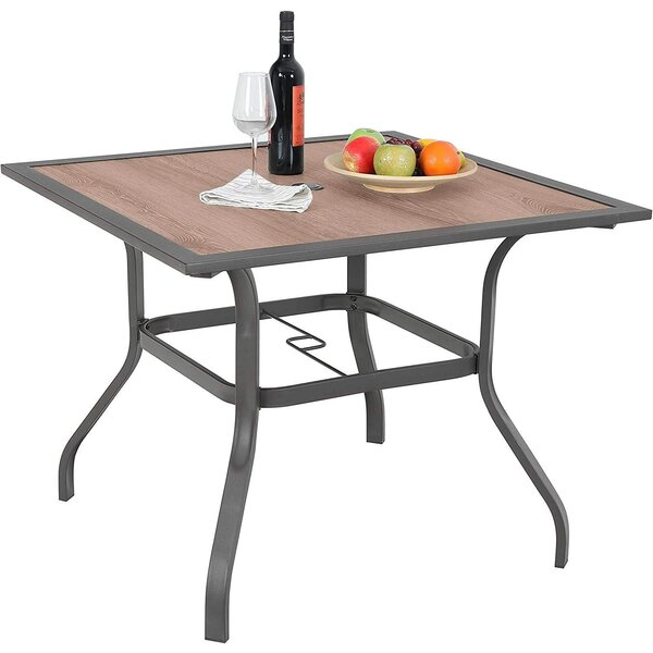 Vandyne Metal Dining Table by Winston Porter