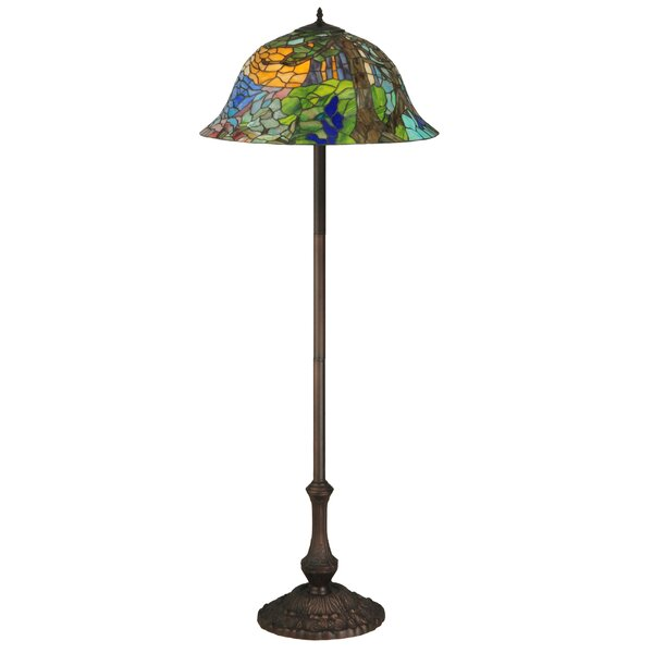 Tiffany Landscape 64 Floor Lamp by Meyda Tiffany