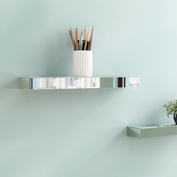 Glenaire Mirrored Ledge Wall Shelf