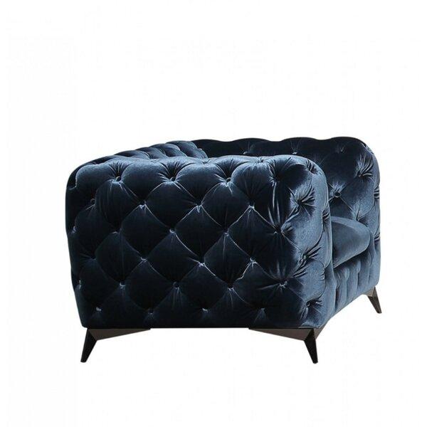 Clarkesville Modern Upholstered Armchair by Everly Quinn