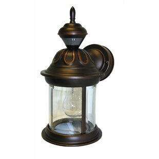 Inexpensive Bridgeport 1-Light Outdoor Wall Lantern By Heath-Zenith