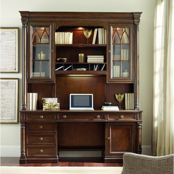 Leesburg 58 H x 73.25 W Desk Hutch by Hooker Furniture