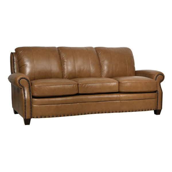 Shop The Best Selection Of Hubbard Leather Sofa by Darby Home Co by Darby Home Co