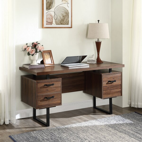 Olague Solid Wood Desk