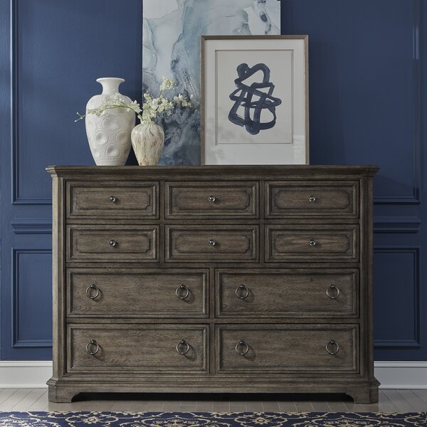 Mckibben 10 Drawer Double Dresser by Darby Home Co