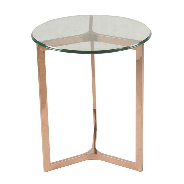 Ziegler End Table by Orren Ellis