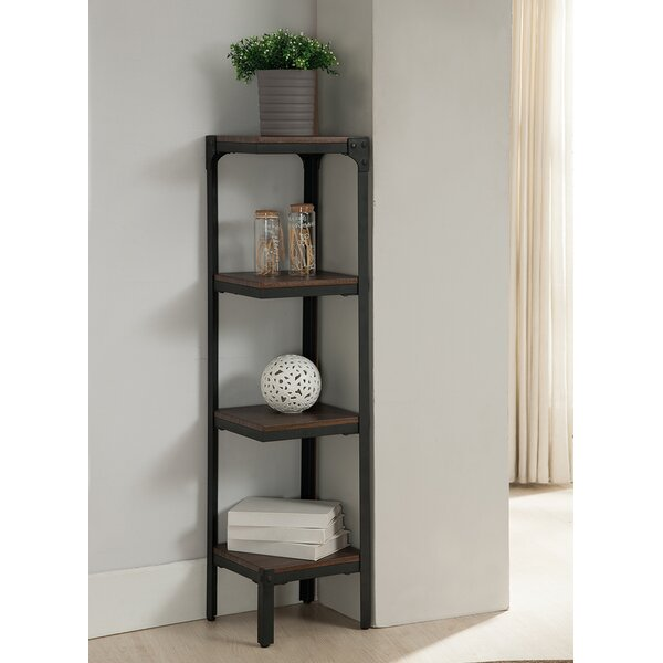 4 Tier Corner Bookcase by InRoom Designs