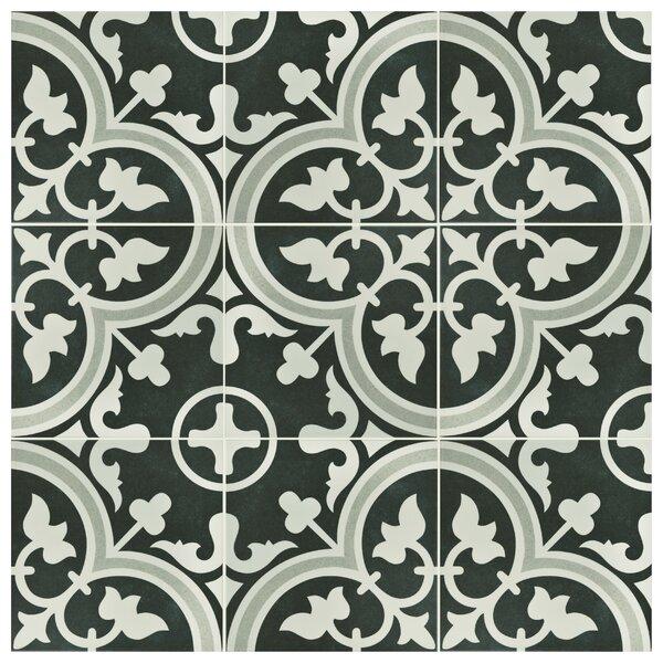 Artea 9.75 x 9.75 Porcelain Field Tile in Due by EliteTile