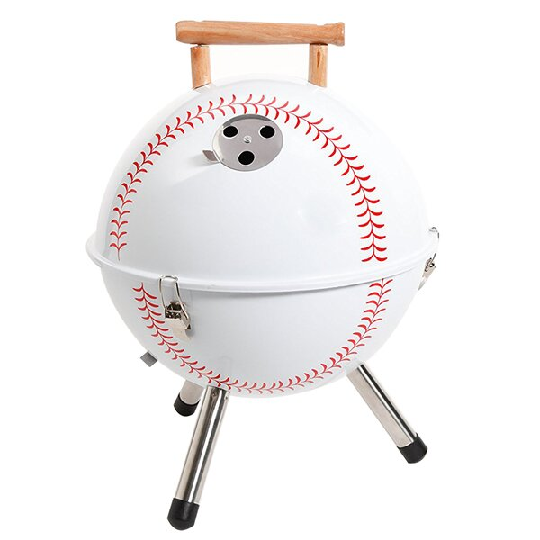 12 Baseball BBQ Portable Grill by Gibson