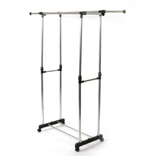Find for Eickhoff 17 W Dual-Bar Vertically & Horizontally Stretching Stand Closet System By Rebrilliant