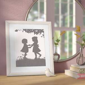 Carmella Sisters Dance Reversed by Patti Rishforth Framed Art by Darby Home Co