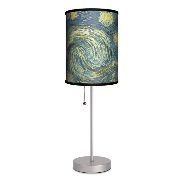 Vincent Van Gogh Starry Night 20 Table Lamp by Lamp-In-A-Box
