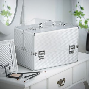 Professional Beauty Cosmetics and Makeup Train Case by Rebrilliant