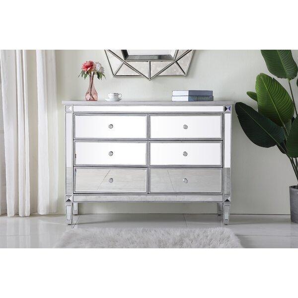 Sparks 6 Drawers Double Dresser by Prestige