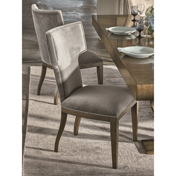 Portfolio Upholstered Side Chair in Brown by Fine Furniture Design Fine Furniture Design