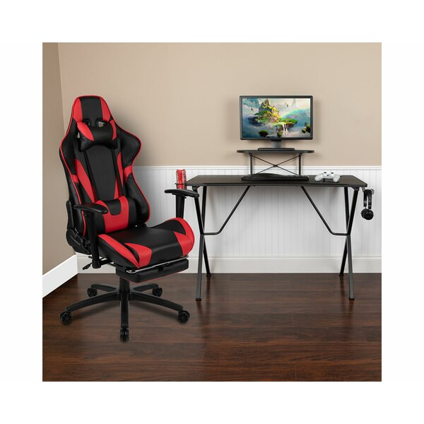 Reclining Gaming Desk and Chair Set