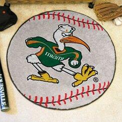 NCAA University of Miami Baseball Mat by FANMATS