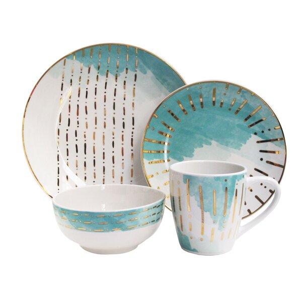 Hoelscher 16 Piece Dinnerware Set, Service for 4 by Mercer41