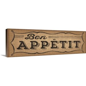 La Cuisine Burlap I Vintage Advertisement on Wrapped Canvas by Great Big Canvas